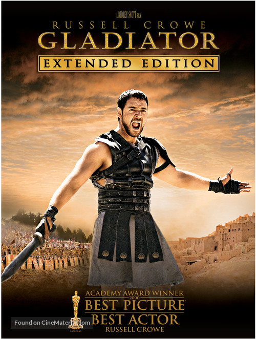 Gladiator - DVD movie cover