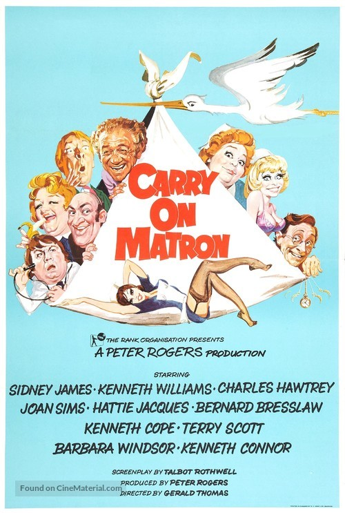 Carry on Matron - British Movie Poster
