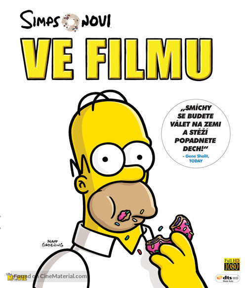 The Simpsons Movie - Czech Movie Cover