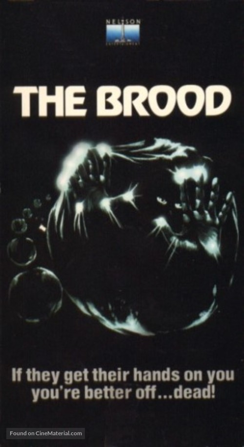 The Brood - VHS movie cover