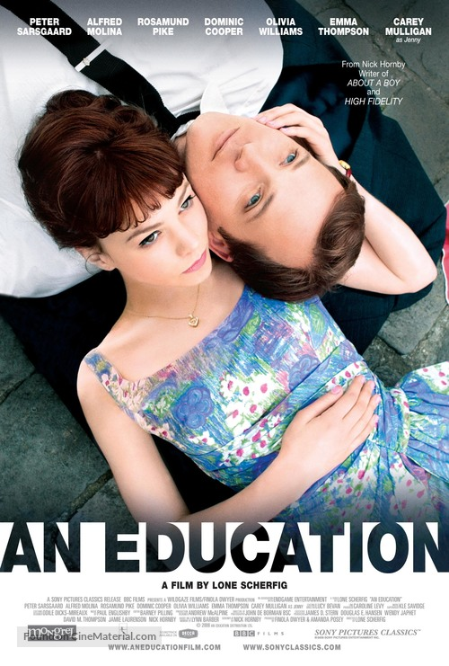 An Education - Canadian Movie Poster