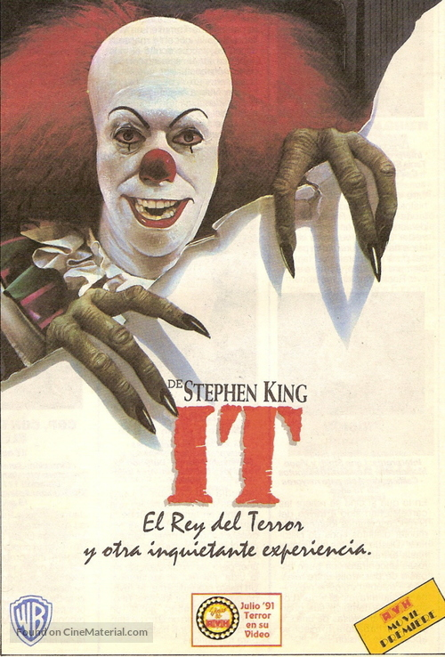 """""""It"""" - Argentinian Movie Cover"""