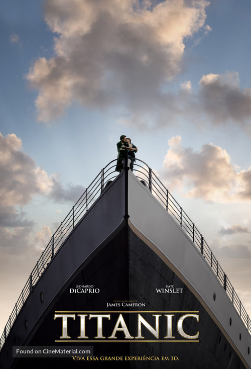 Titanic - Brazilian Movie Poster
