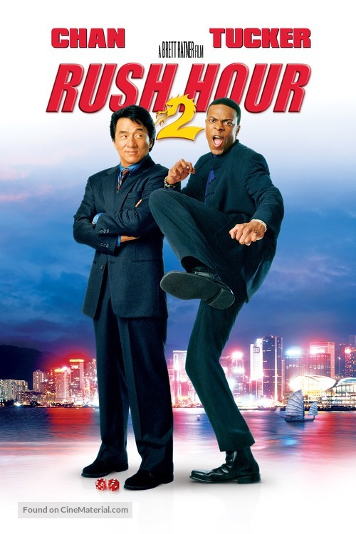 Rush Hour 2 - Movie Cover