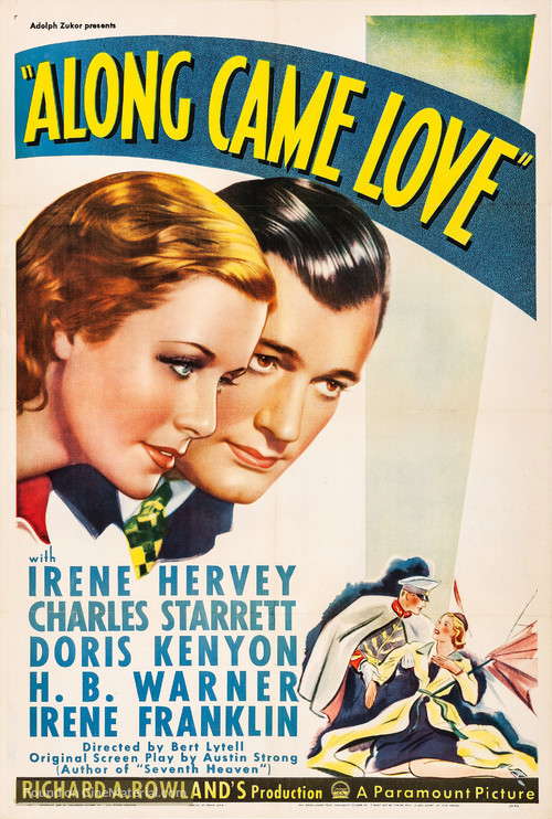 Along Came Love - Theatrical movie poster