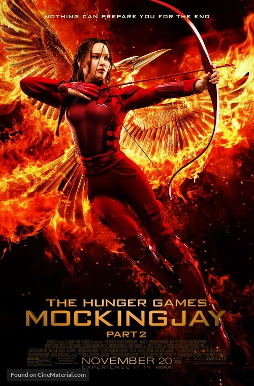 The Hunger Games: Mockingjay - Part 2 - Movie Poster