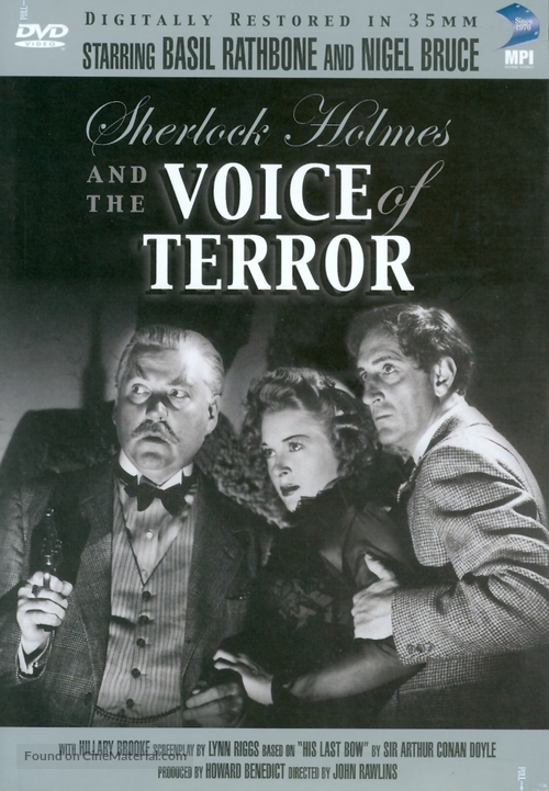 Sherlock Holmes and the Voice of Terror - DVD cover