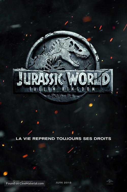 Jurassic World: Fallen Kingdom - French Movie Poster