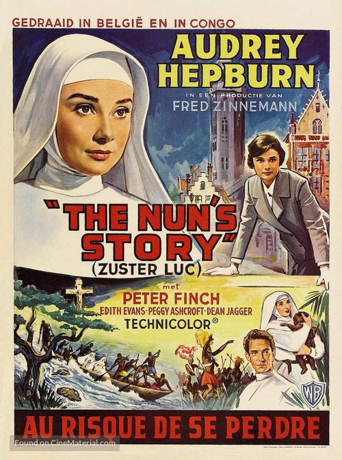 The Nun's Story - Belgian Movie Poster