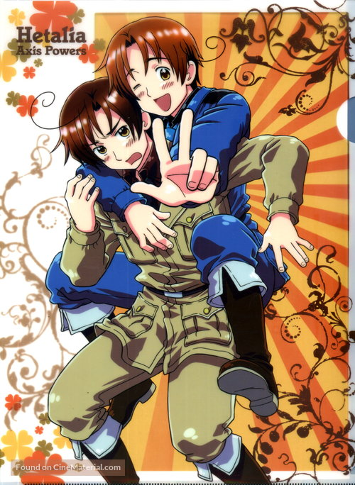 """Hetalia: Axis Powers"" - Japanese Movie Poster"