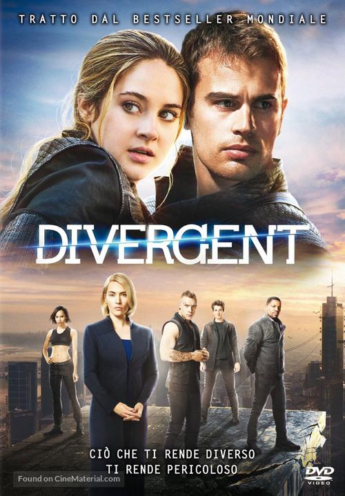 Divergent 2014 Italian Dvd Movie Cover