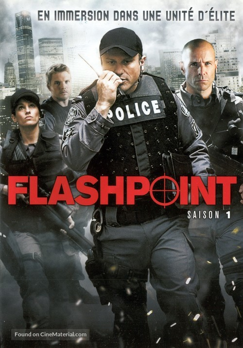 """""""Flashpoint"""" - French DVD movie cover"""