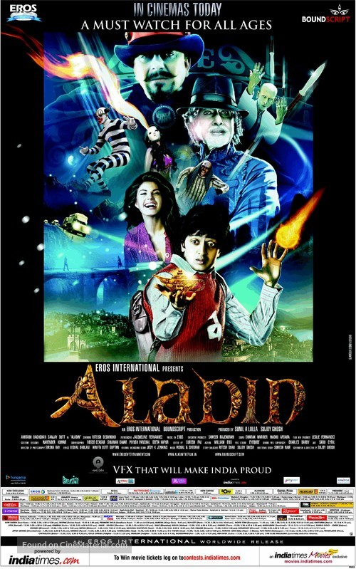 Aladin - Indian Movie Poster