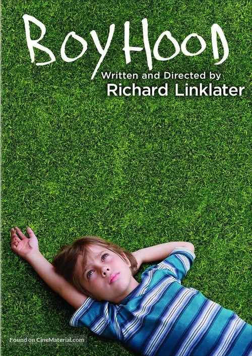 Boyhood - DVD movie cover