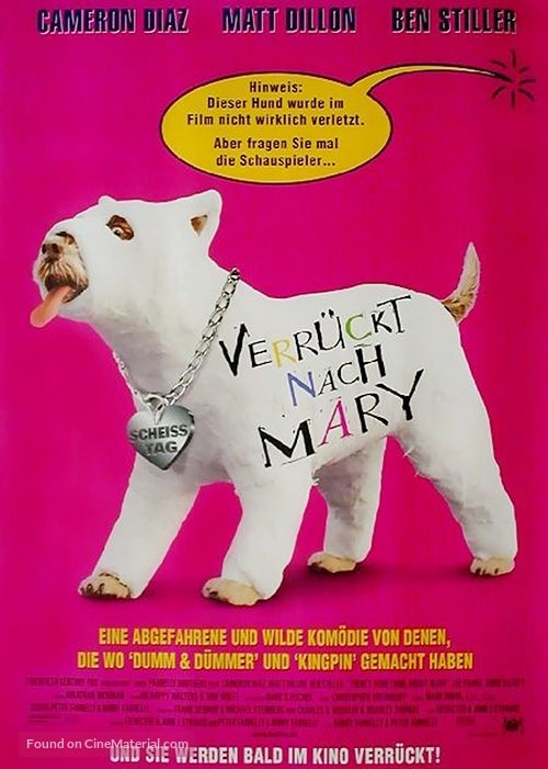There's Something About Mary - German Movie Poster