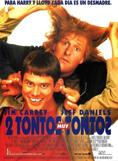 Dumb & Dumber - Spanish Movie Poster