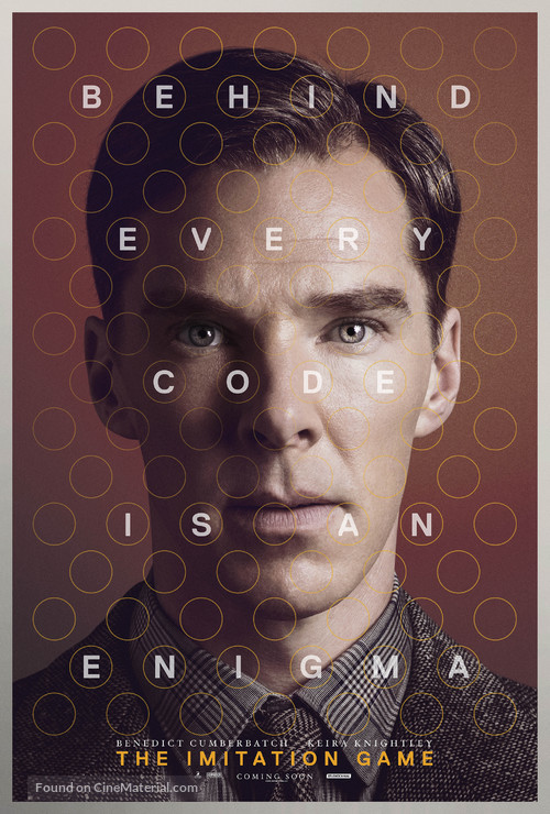 The Imitation Game - British Character poster
