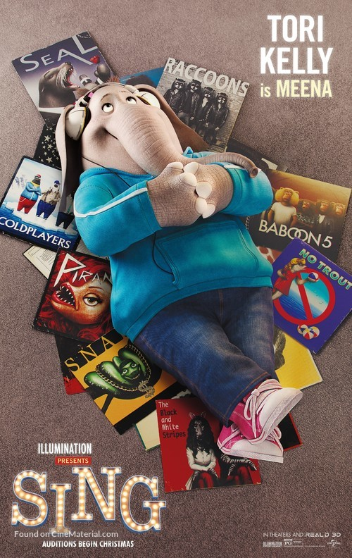Sing movie poster images