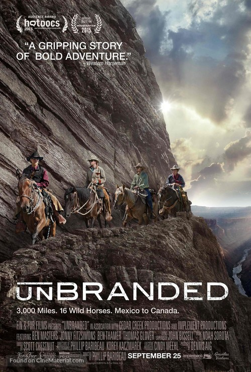 Unbranded - Movie Poster