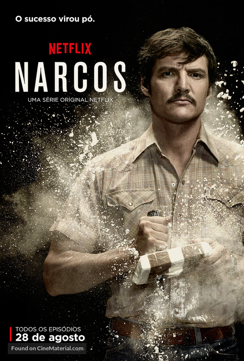 """Narcos"" - Brazilian Movie Poster"