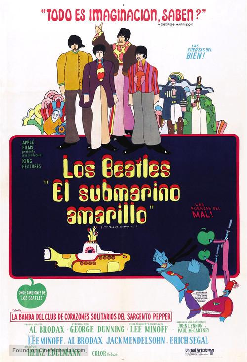 Yellow Submarine - Argentinian Movie Poster
