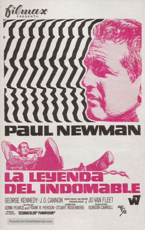 Cool Hand Luke - Spanish Movie Poster