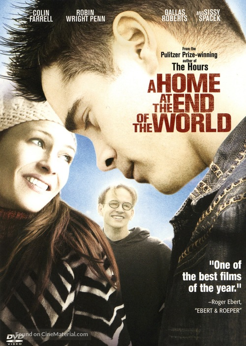 A Home at the End of the World - DVD movie cover