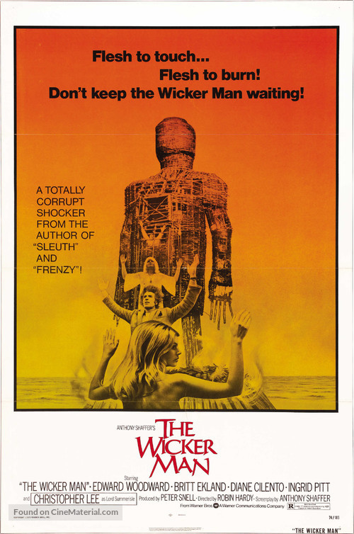 The Wicker Man - Theatrical movie poster