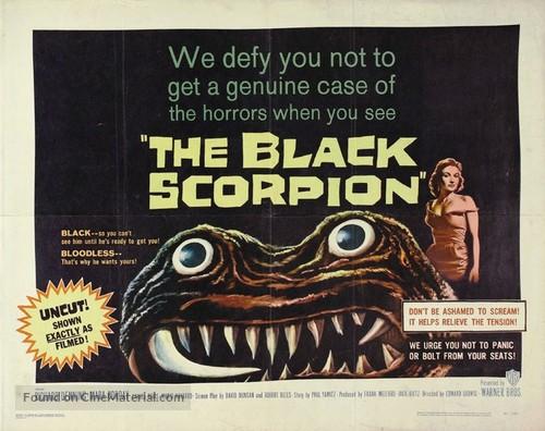 The Black Scorpion - Movie Poster