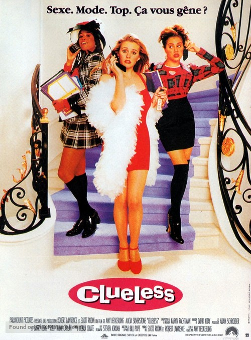 Clueless - French Movie Poster