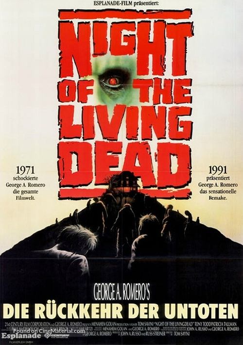 Night of the Living Dead - German Movie Poster