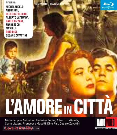 Amore in città, L' - Italian Movie Cover