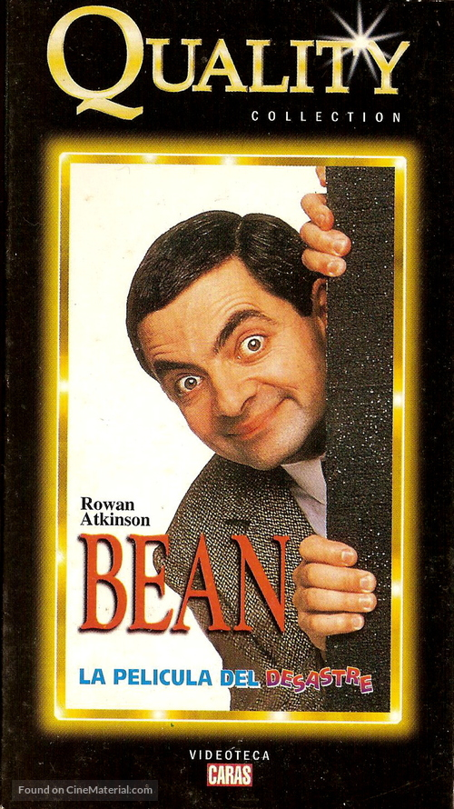 Bean 1997 Argentinian Movie Cover