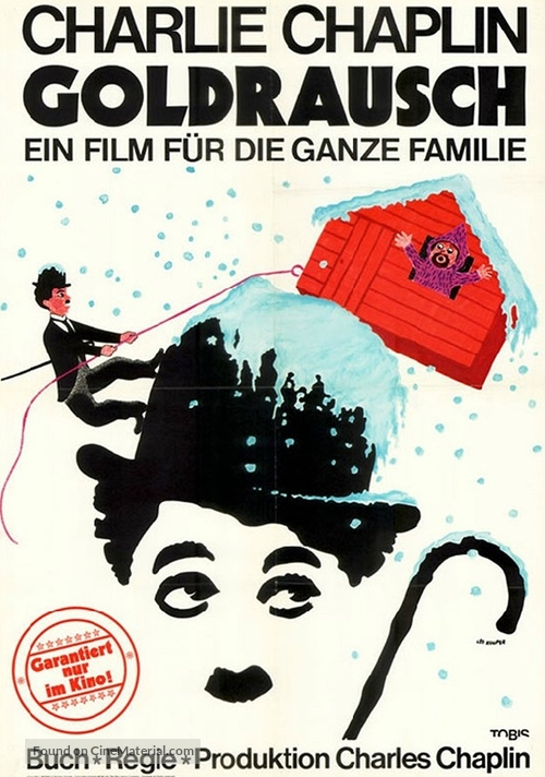 The Gold Rush - German Movie Poster