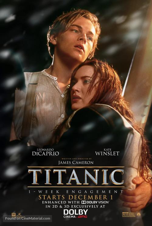 Titanic - Re-release movie poster