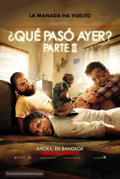 The Hangover Part II - Mexican Movie Poster