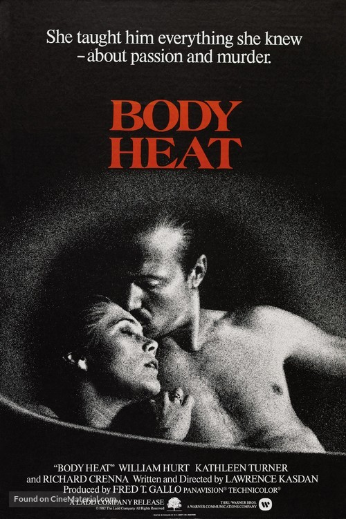 Body Heat - Movie Poster