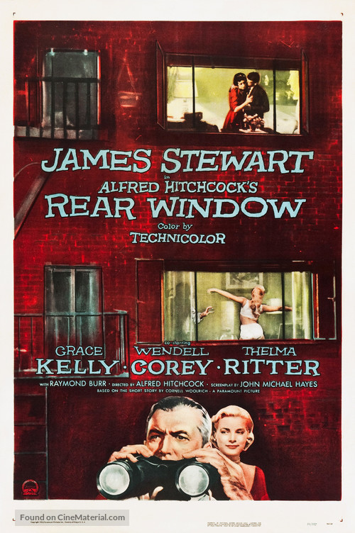 Rear Window - Theatrical poster