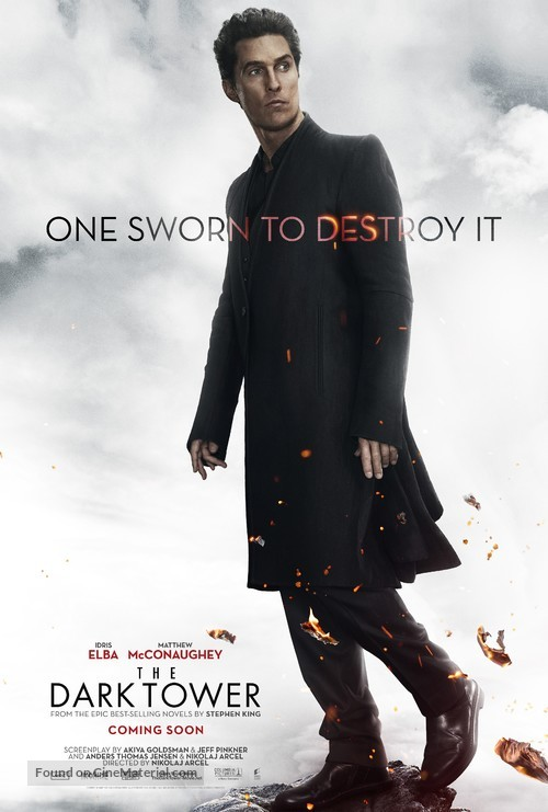 The Dark Tower - Character movie poster