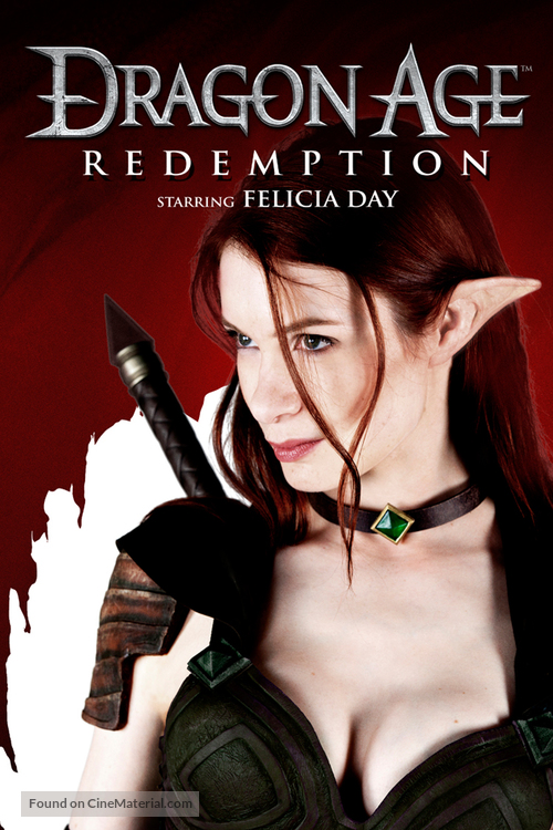 """""""Dragon Age: Redemption"""" - DVD movie cover"""