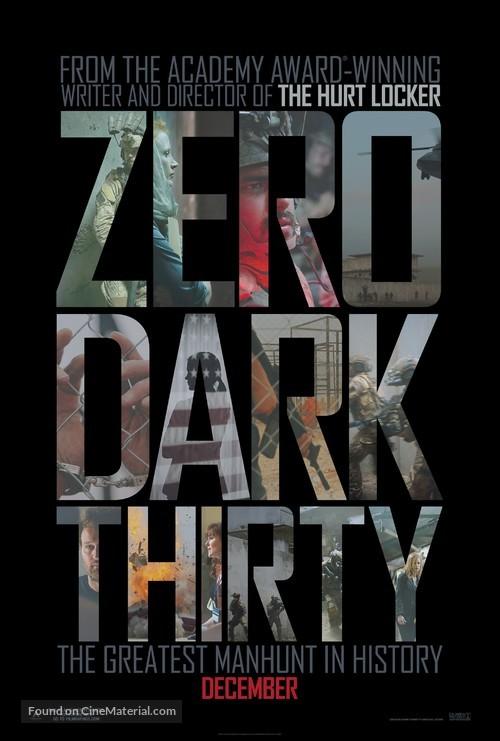Zero Dark Thirty - Movie Poster