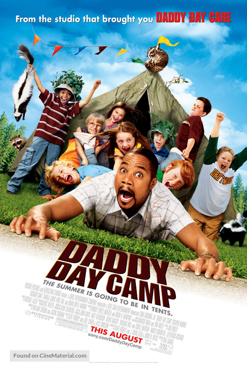 Daddy Day Camp - Movie Poster