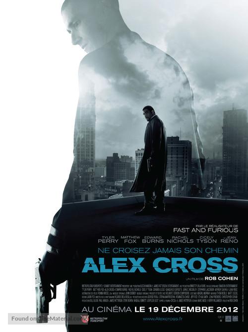 Alex Cross - French Movie Poster