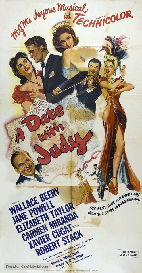 A Date with Judy - Movie Poster