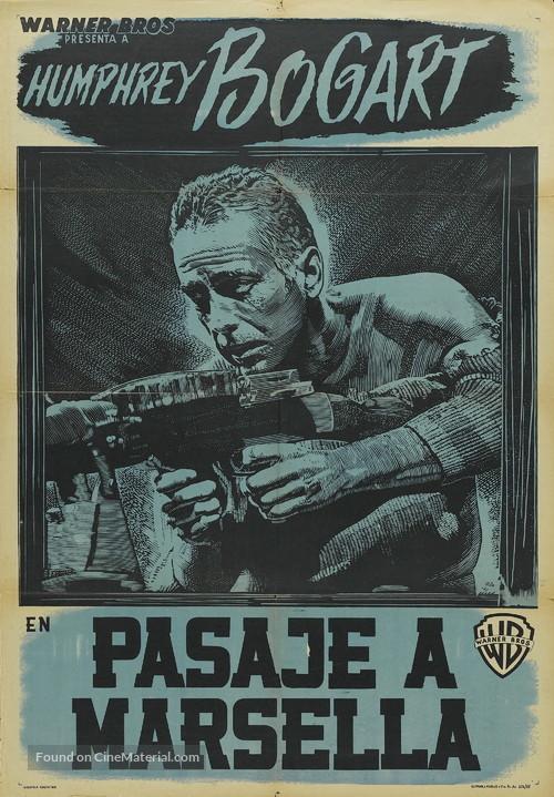 Passage to Marseille - Argentinian Movie Poster