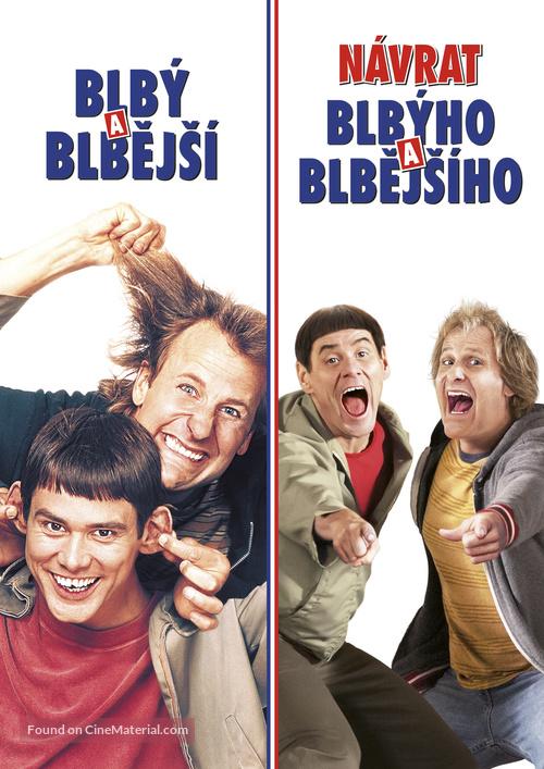 Dumb & Dumber - Czech Movie Cover