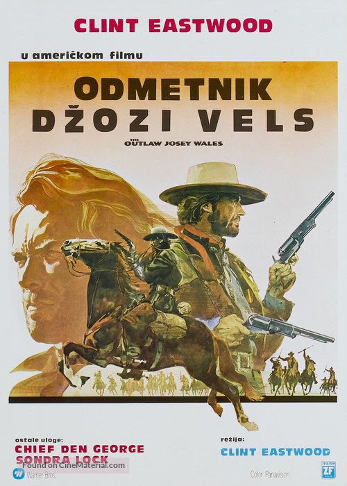 The Outlaw Josey Wales - Yugoslav Movie Poster