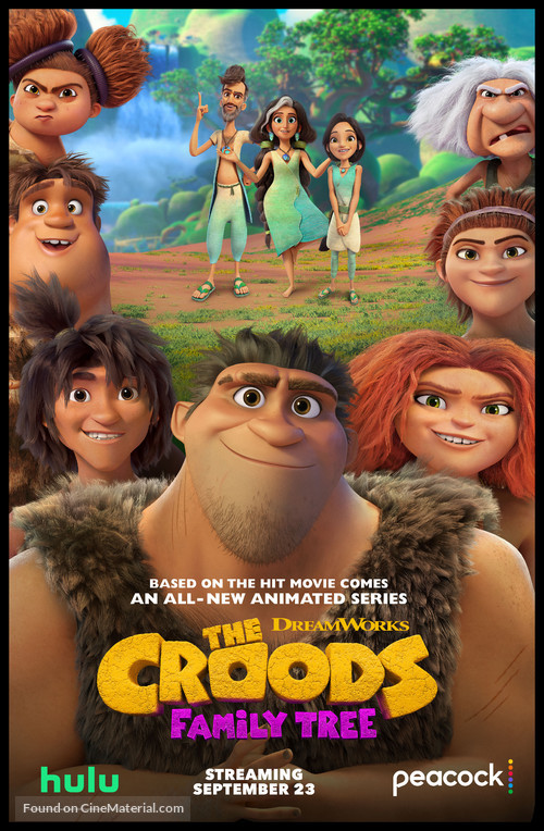 """""""The Croods: Family Tree"""" - Movie Poster"""