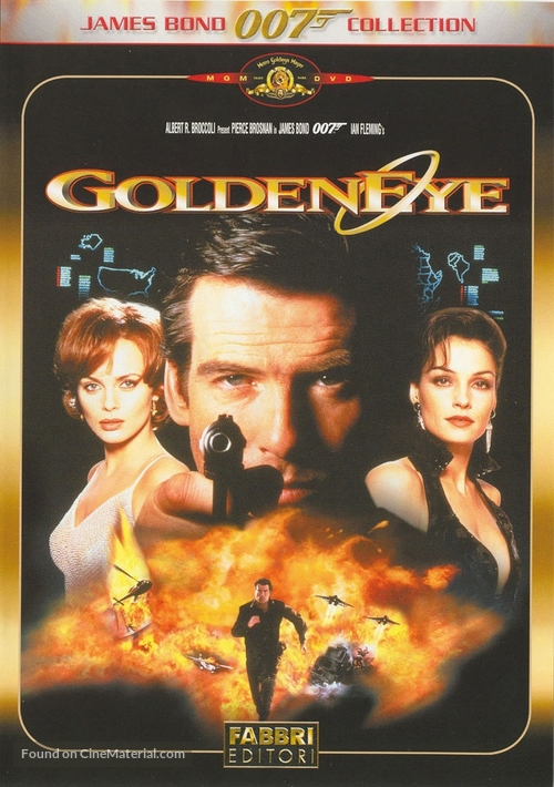 GoldenEye - Italian Movie Cover