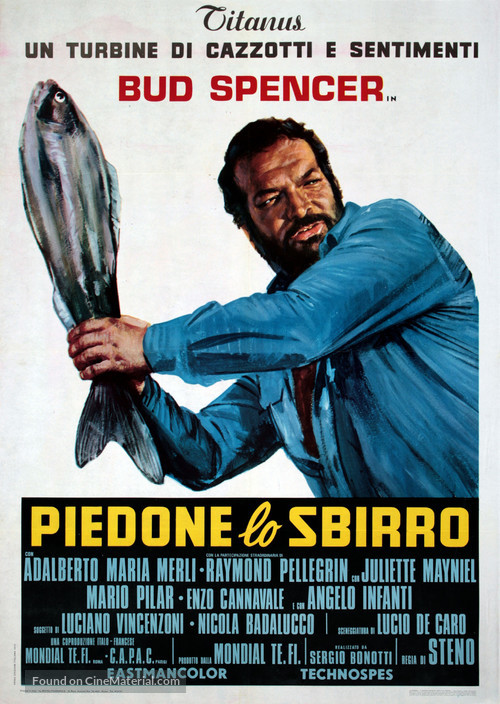 Piedone lo sbirro - Italian Movie Poster